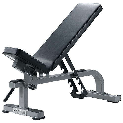 54027 Flat to Incline Bench, White