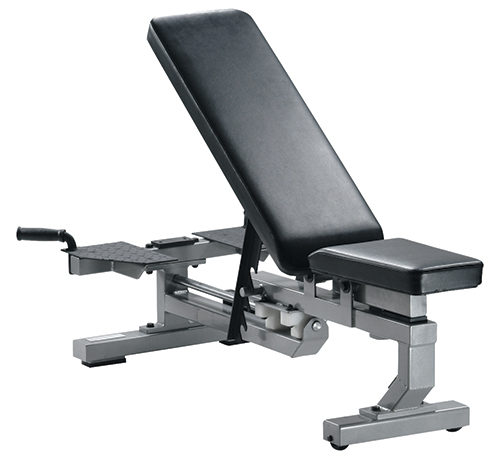 55004 Multi Function Bench with Wheels, Silver