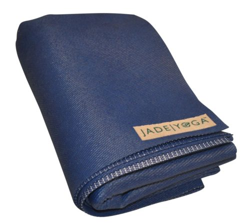 668MB Voyager Foldable Yoga Mat, Midnight Blue - 0.062 x 68 in.