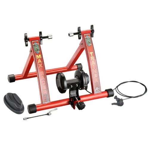 83-DT5069 1113 Products Max Racer 7 Levels of Resistance Portable Bicycle Trainer Work Out Machine