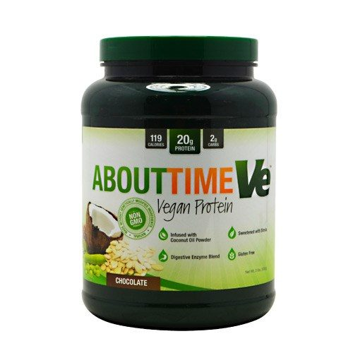 ABOUT TIME VEGAN PROT Chocolate 2 lbs by About Time