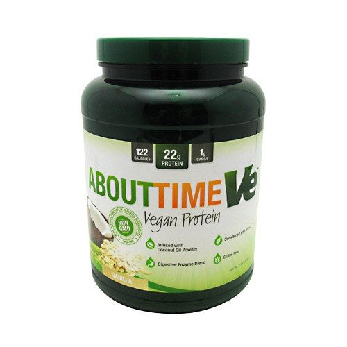 ABOUT TIME VEGAN PROT Vanilla 2 lbs by About Time