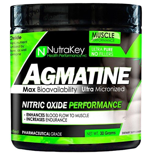 AGMATINE POWDER 30 grams by Nutrakey