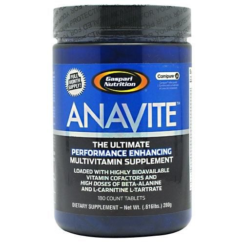 Anavite 180 Tabs by Gaspari Nutrition