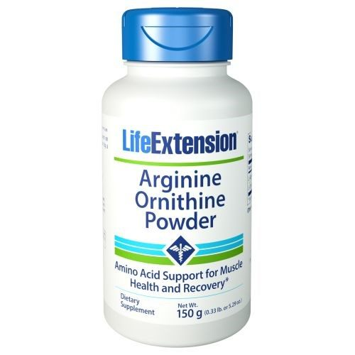 Arginine Ornithine Powder 150 gms by Life Extension