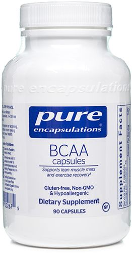 BCAA Capsules 250 Capsules by Pure Encapsulations