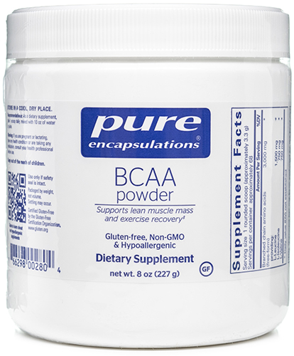 BCAA Powder 227 grams, powder by Pure Encapsulations