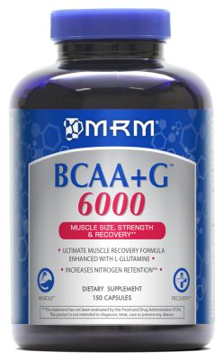 BCAA plus G 6000 150 Capsules by Metabolic Response Modifier