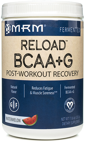 BCAA plus G Reload Natural Watermelon 11.6 oz, powder by Metabolic Response Modifier