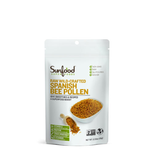 Bee Pollen, Spanish, .53oz (Single Serving), Raw, Wildcrafted