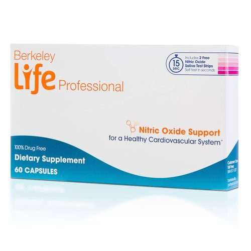Berkeley Life Professional Nitric Oxide Support 60 Capsules by Berkeley Life