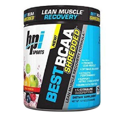 Best BCAA Shredded Fruit Punch 25 Servings by bpi