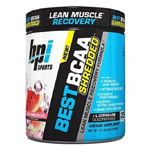 Best BCAA Shredded Watermelon Ice 25 Servings by bpi