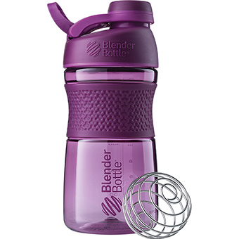Blenderbottle 422916 20 oz Sportmixer Twist Water Bottle - Assorted Color
