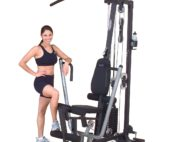 Body-Solid 638448000643 Multi-Station Home Gym - 160 lbs Weight Stack