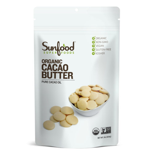Cacao Butter, 1lb, Organic