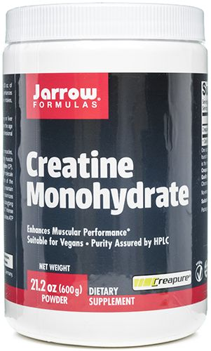 Creatine Monohydrate Powder 1000 grams, powder by Jarrow Formulas