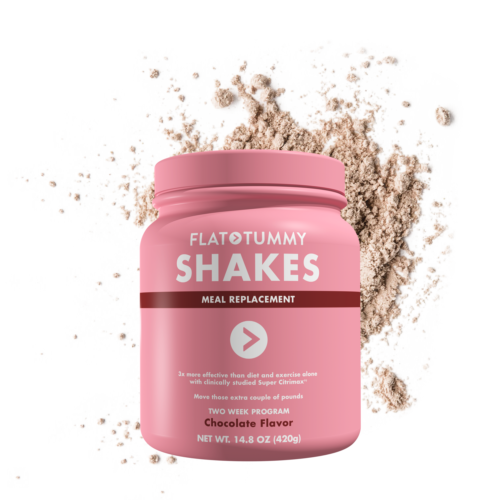 Flat Tummy Shakes Chocolate 2 week