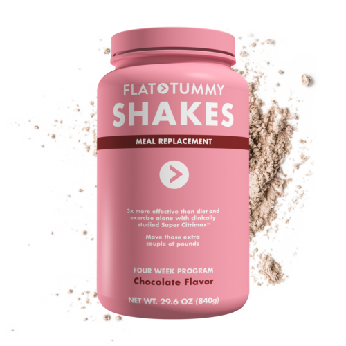 Flat Tummy Shakes Chocolate 4 week