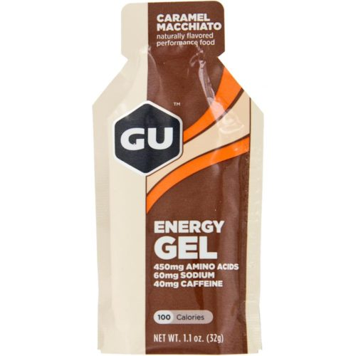 GU Energy Gel 24 Pack Nutrition Caramel Macchiato