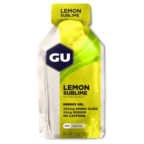 GU Energy Gel 24 Pack Nutrition Lemon Sublime