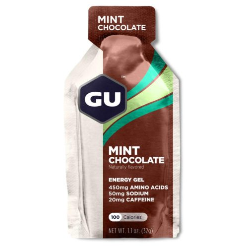 GU Energy Gel 24 Pack Nutrition Mint Chocolate