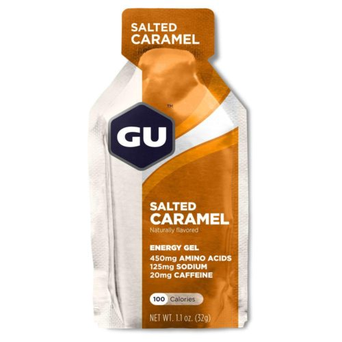 GU Energy Gel 24 Pack Nutrition Salted Caramel