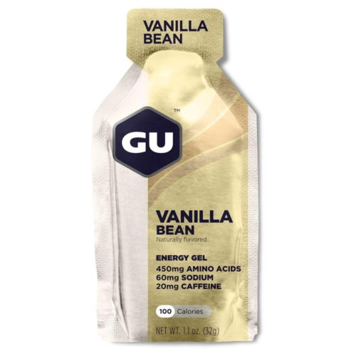 GU Energy Gel 24 Pack Nutrition Vanilla Bean