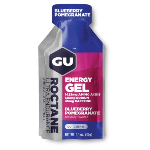 GU Roctane Energy Gel 24 Pack Nutrition Blueberry Pomegranate