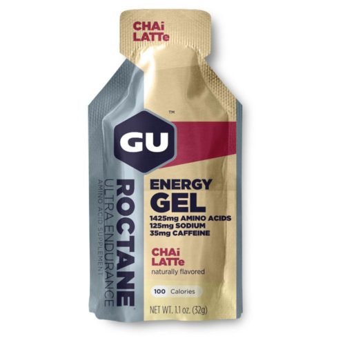 GU Roctane Energy Gel 24 Pack Nutrition Chai Latte