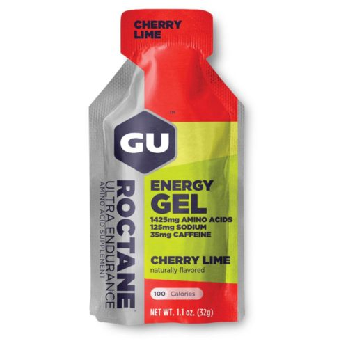 GU Roctane Energy Gel 24 Pack Nutrition Cherry Lime