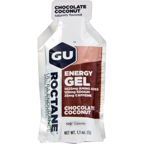 GU Roctane Energy Gel 24 Pack Nutrition Chocolate Coconut