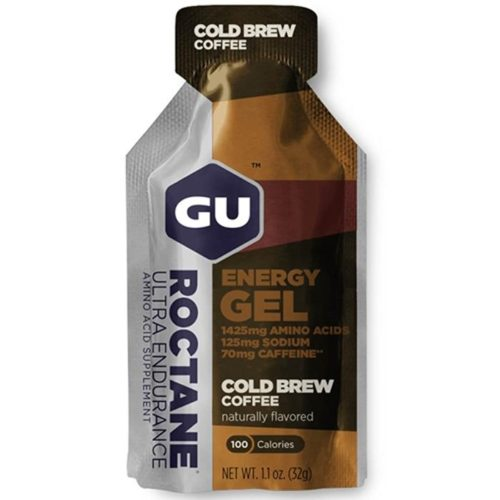 GU Roctane Energy Gel 24 Pack Nutrition Cold Brew Coffee