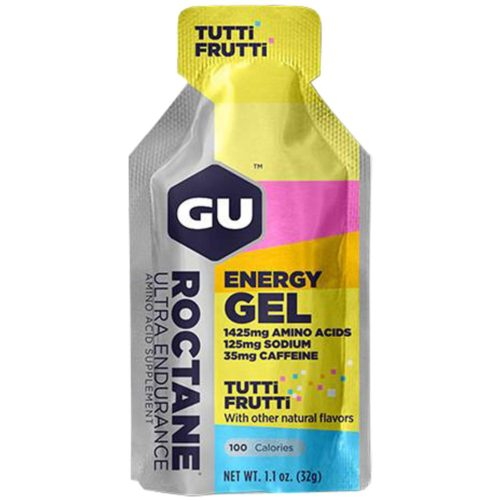 GU Roctane Energy Gel 24 Pack Nutrition Tutti Frutti