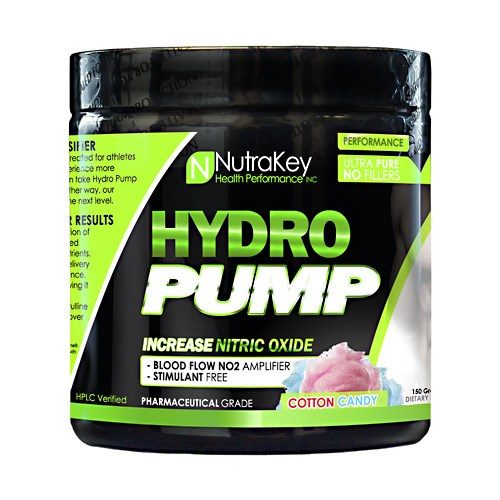 HYDRO PUMP Cotton Candy 30 serving by Nutrakey