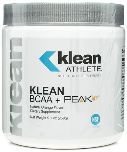 Klean BCAA plus Peak ATP 258 grams, powder by Klean Athlete