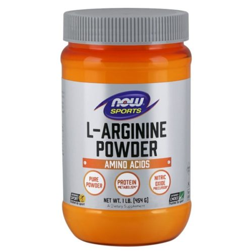 L-Arginine Powder 1 Lb by Now Foods