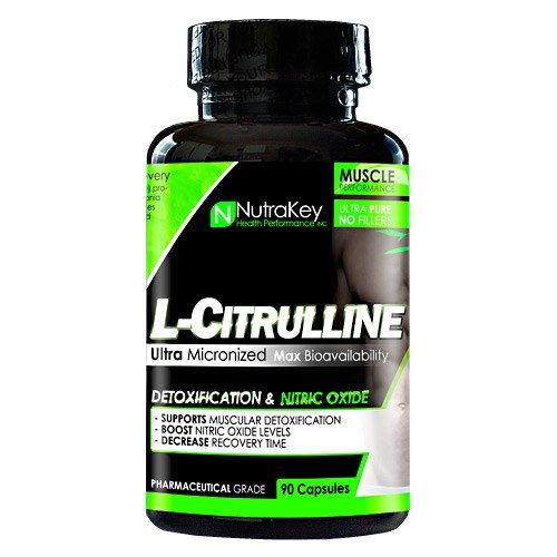 L-CITRULLINE 90 caps by Nutrakey