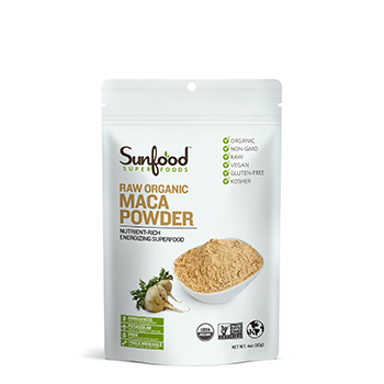 Maca Powder, 4oz, Organic, Raw