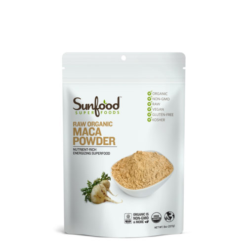 Maca Powder, 8oz, Organic, Raw