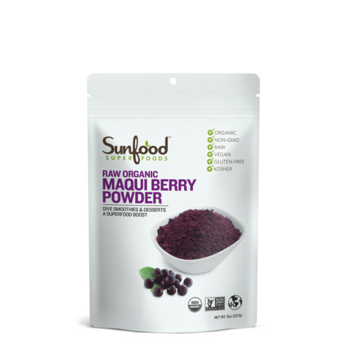 Maqui Berry Powder, 8oz, Organic, Raw