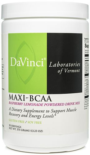 Maxi-BCAA 30 Servings by DaVinci Laboratories of Vermont
