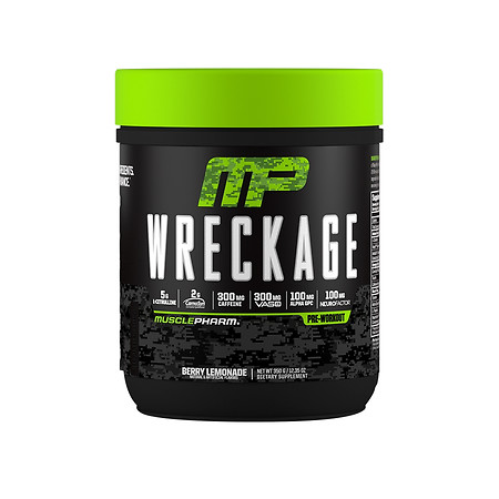 MusclePharm Wreckage Pre-Workout - 12.35 oz.