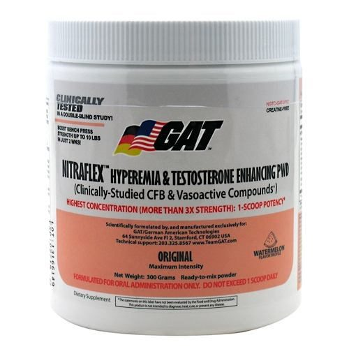 Nitraflex Watermelon 0.81 lbs by German American Technologies