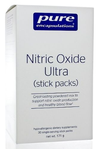 Nitric Oxide Ultra Stick Packs 30 Stick Packs by Pure Encapsulations