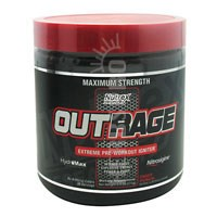 OUTRAGE Fruit Punch 30 serving by Nutrex Research