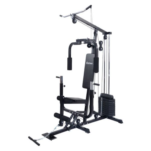 Online Gym Shop CB17053 Home Gym Weight Training Exercise Workout Equipment Strength Machine Fitness