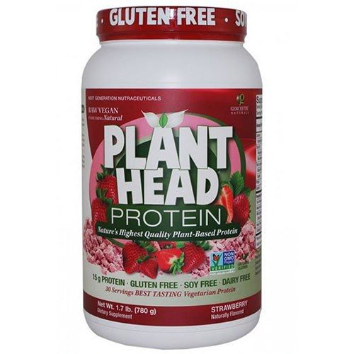 Plant Head Protein Strawberry 1.7 lbs by Nature's Answer
