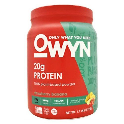 Plant Protein Strawberry Banana 1.2 lbs by Only What You Need