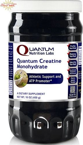 Quantum Creatine Monohydrate 16 oz, powder by Quantum Nutrition Labs
